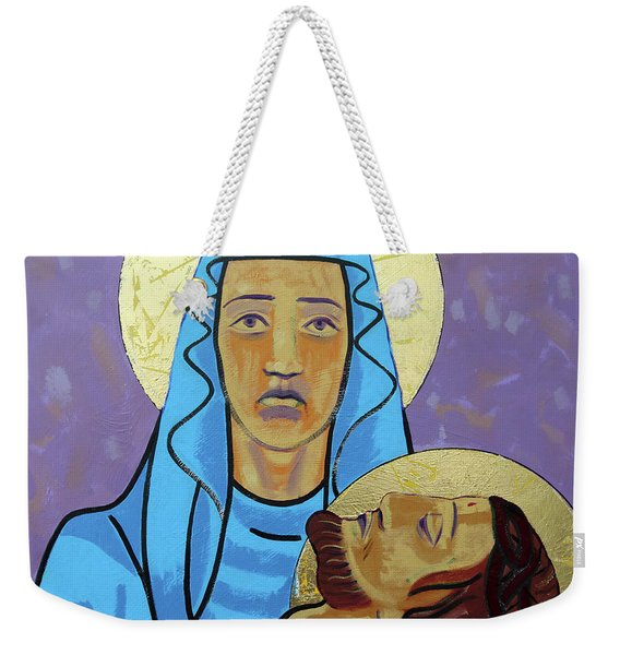 Jesus Is Taken Down From The Cross Weekender Tote Bag