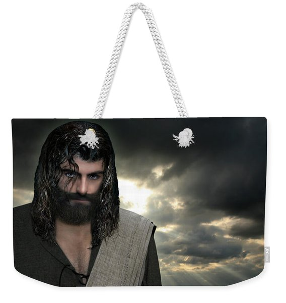 Jesus- Will You Hear Me Shout Come Up Weekender Tote Bag