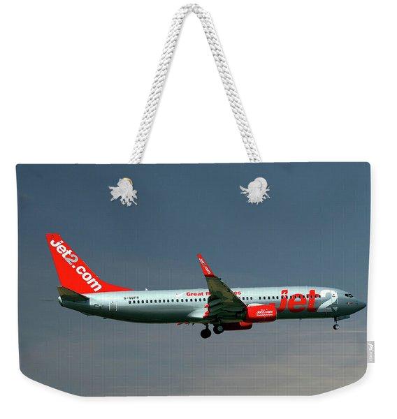 Jet2 Boeing 737-8z9 Weekender Tote Bag