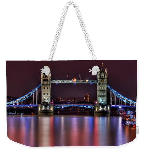 Jewel Of The Night Weekender Tote Bag