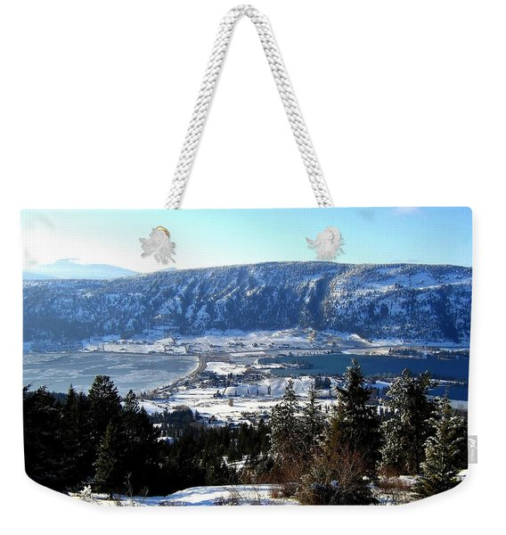 Jewel Of The Okanagan Weekender Tote Bag