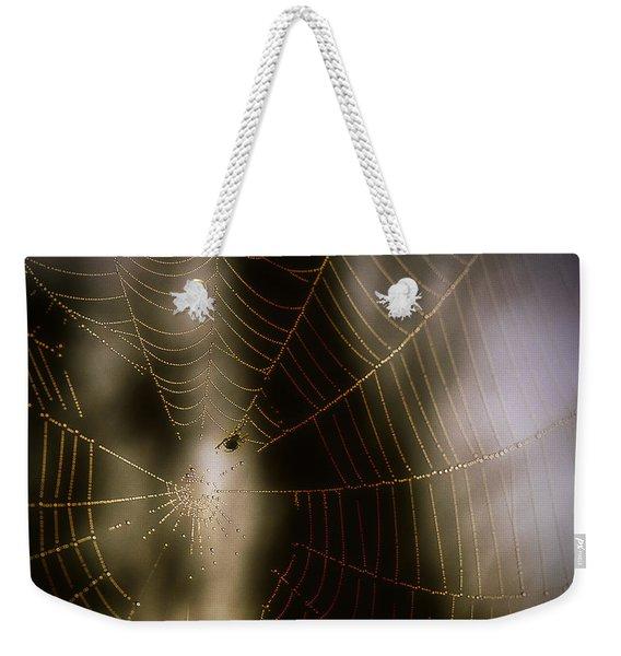 Jeweled Weaver Weekender Tote Bag