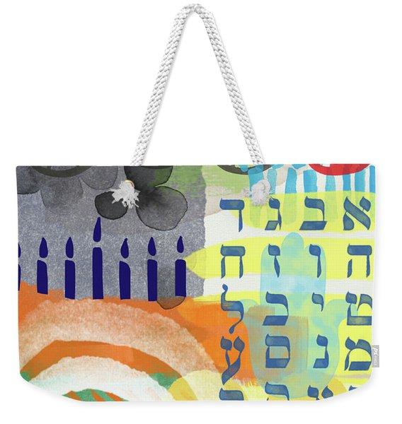 Jewish Life 1- Art By Linda Woods Weekender Tote Bag