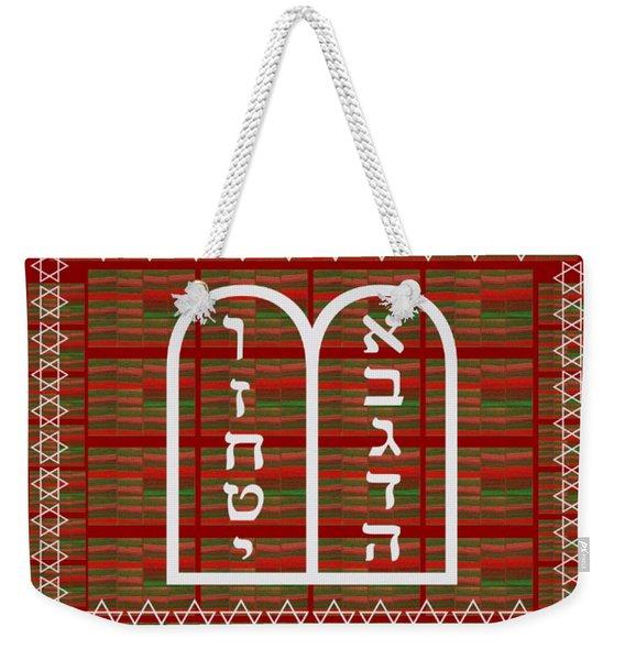 Jewish Religion Religious Celebrations Art Graphics By Navin Joshi Weekender Tote Bag