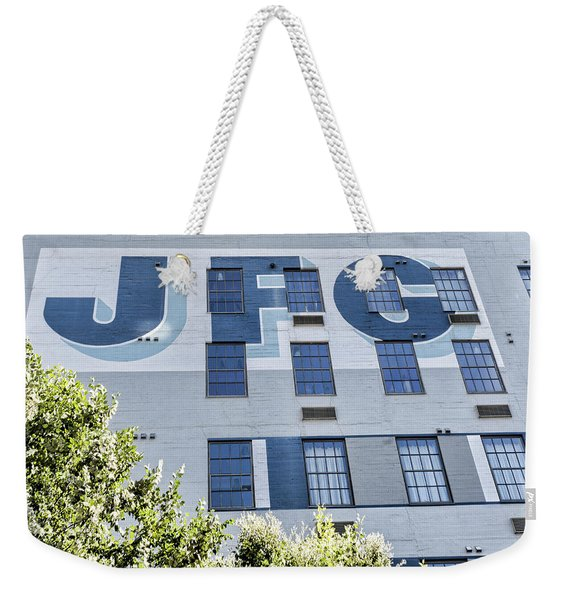 Jfg Looking Up Weekender Tote Bag