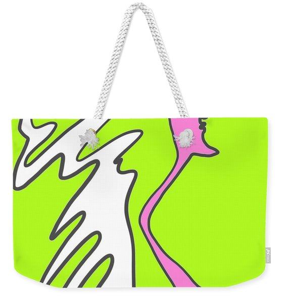 Jiggy Weekender Tote Bag
