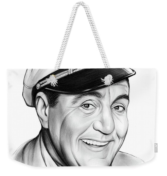 Jim Backus Weekender Tote Bag