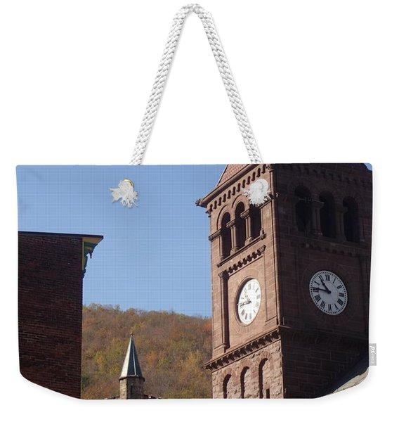 Jim Thorpe Rooftops Weekender Tote Bag