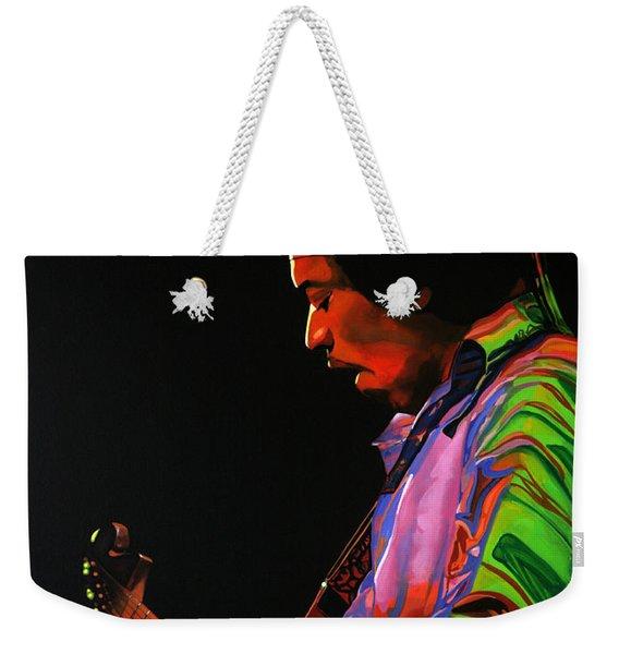 Jimi Hendrix 4 Weekender Tote Bag