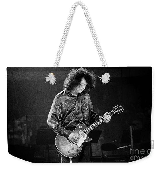 Jimmy Page-0028 Weekender Tote Bag