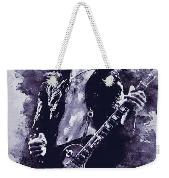 Jimmy Page - 17 Weekender Tote Bag