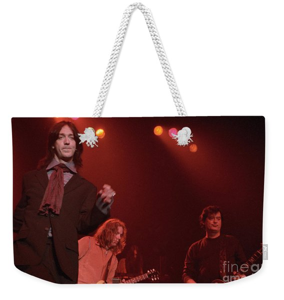 Jimmy Page And The Black Crowes Weekender Tote Bag