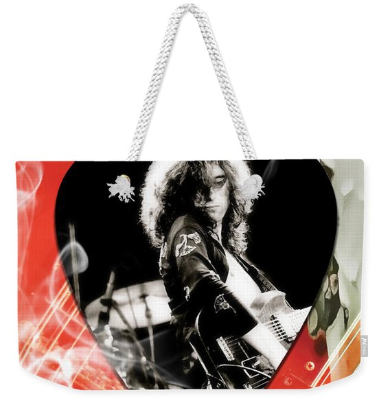 Jimmy Page Art Weekender Tote Bag