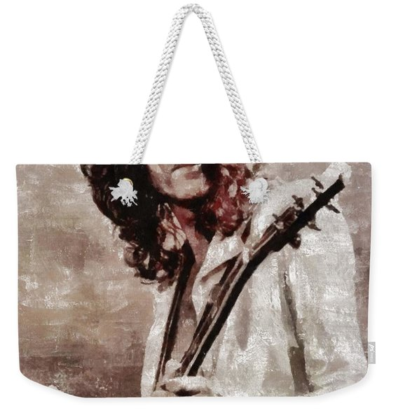 Jimmy Page By Mary Bassett Weekender Tote Bag