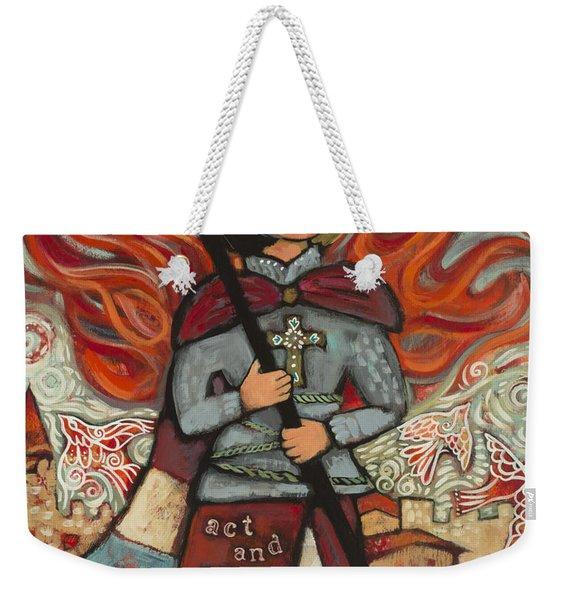Joan Of Arc Weekender Tote Bag