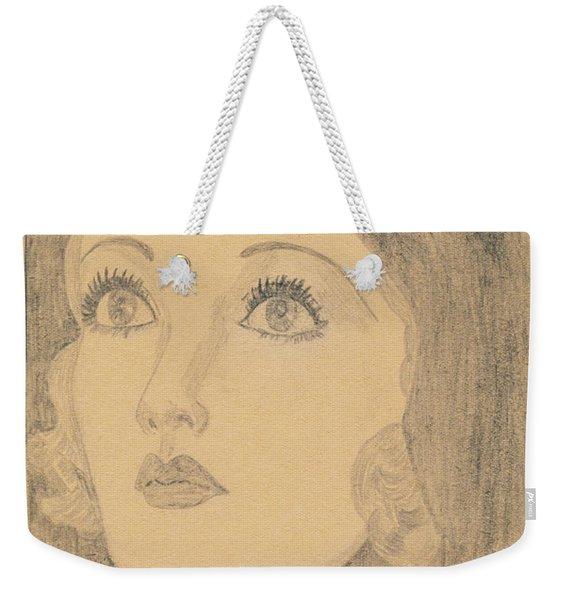 Joanne Bennett  Weekender Tote Bag