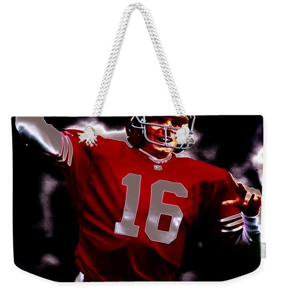 Joe Montana 2b Weekender Tote Bag