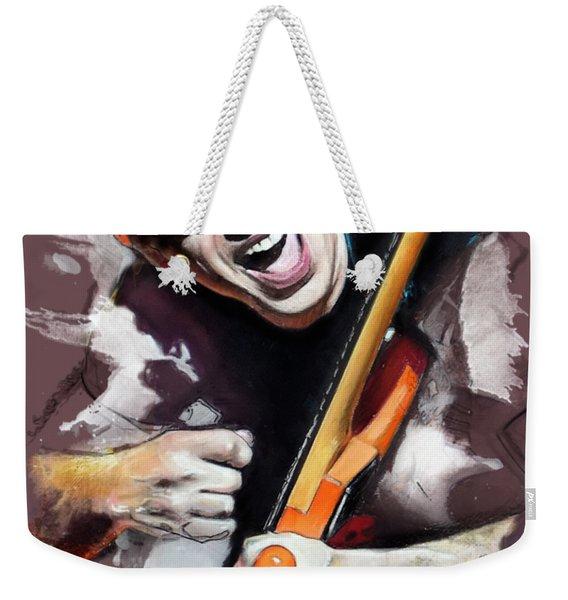 Joe Satriani Weekender Tote Bag