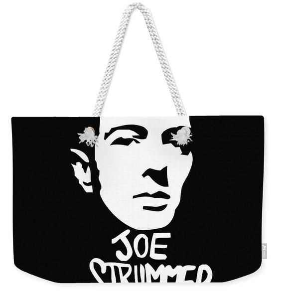 Joe Strummer Weekender Tote Bag