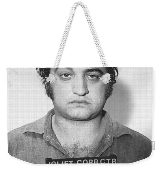 John Belushi Mug Shot For Film Vertical Weekender Tote Bag