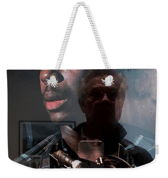 John Coltrane And Me Weekender Tote Bag