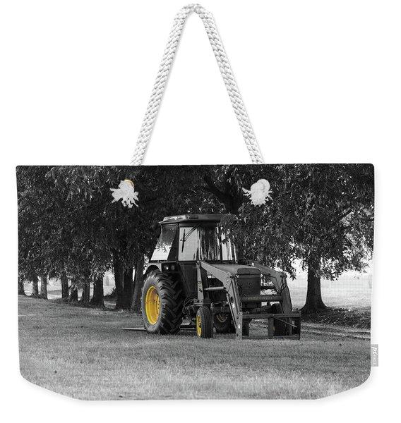 John Deere 620 In Selective Color Weekender Tote Bag