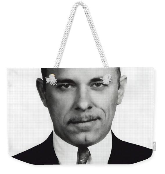 John Dillinger -- Public Enemy No. 1 Weekender Tote Bag