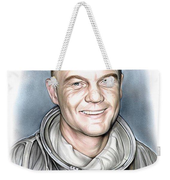 John Glenn Weekender Tote Bag