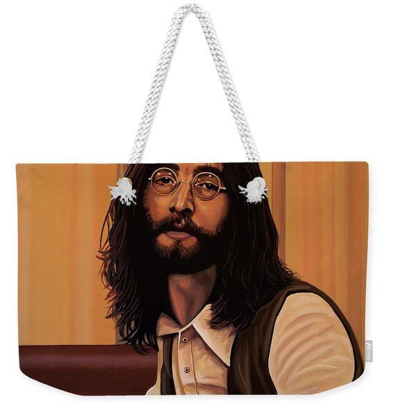 John Lennon Imagine Weekender Tote Bag