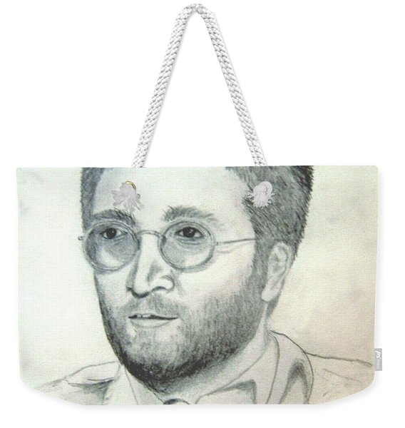 John Lennon Power To The People Weekender Tote Bag