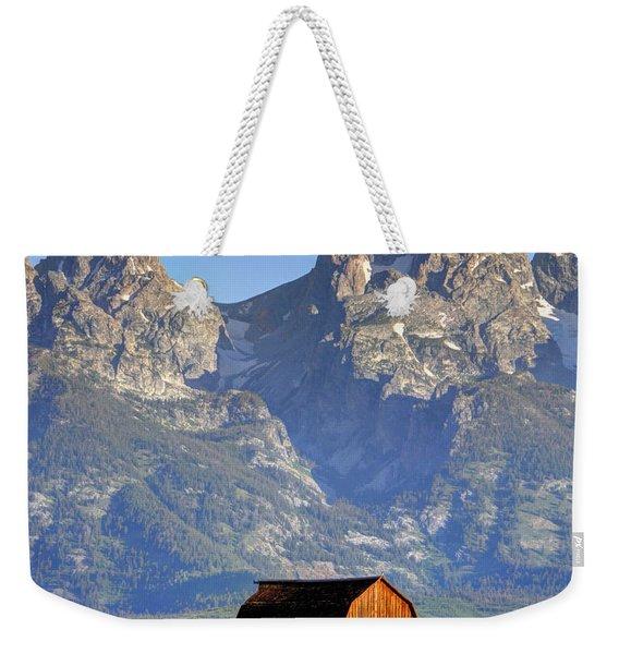 John Moulton Barn - Grand Teton National Park Weekender Tote Bag