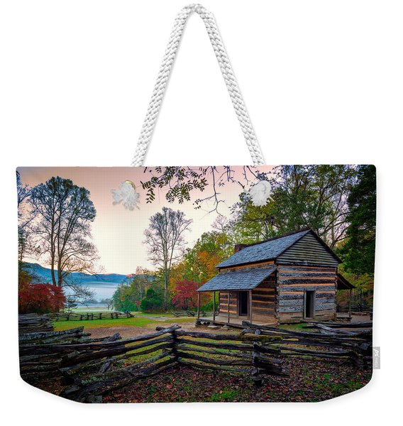 John Oliver Place In Cades Cove Weekender Tote Bag