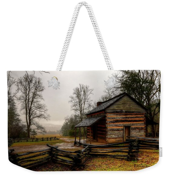 John Oliver's Cabin In Cades Cove Weekender Tote Bag