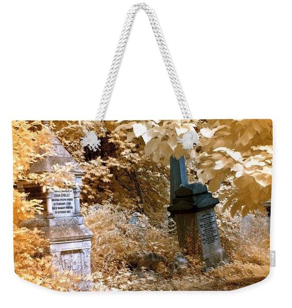 Autumnal Walk At Abney Park Cemetery Weekender Tote Bag