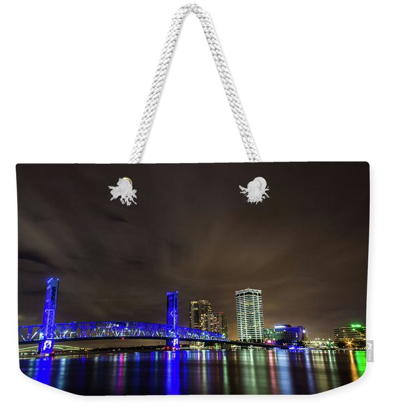 John T. Alsop Bridge Weekender Tote Bag