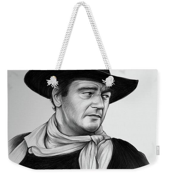 John Wayne 29jul17 Weekender Tote Bag