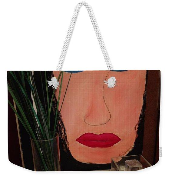 Johnlennonborderline Weekender Tote Bag