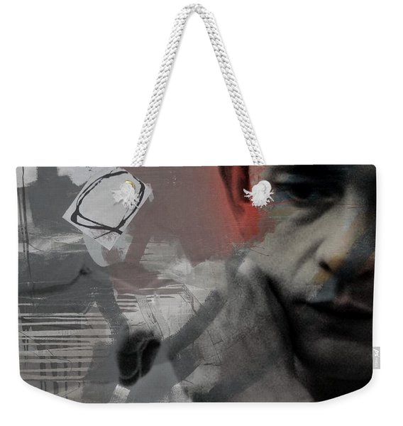 Johnny Cash - The Man Comes Around  Weekender Tote Bag