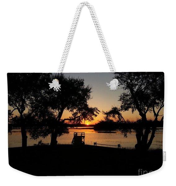 Johns Island Sunset Weekender Tote Bag