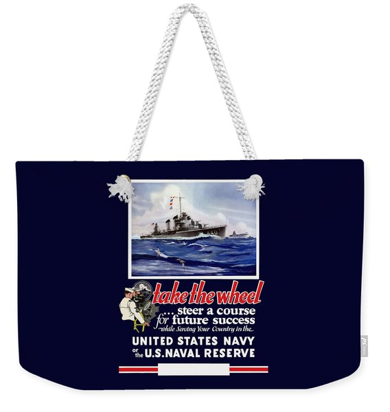 Join The Us Navy - Ww2 Weekender Tote Bag
