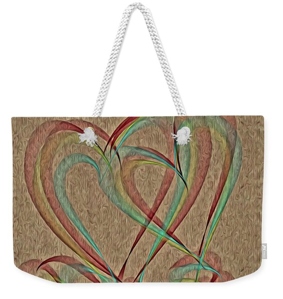 Joined At The Heart Weekender Tote Bag
