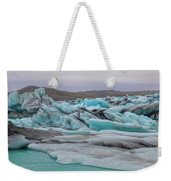 Jokulsarlon Glacier Lagoon Natural Beauties  Weekender Tote Bag