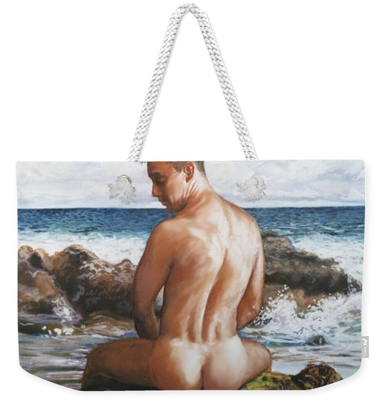 Jon At The Beach  Weekender Tote Bag