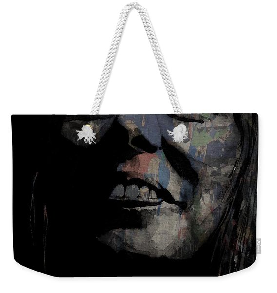 Joni Mitchell - A Case Of You Weekender Tote Bag