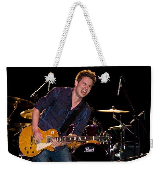 Jonny Lang Rocks His 1958 Les Paul Gibson Guitar Weekender Tote Bag