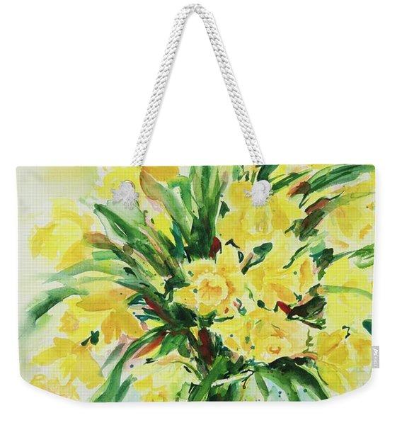 Jonquils Weekender Tote Bag