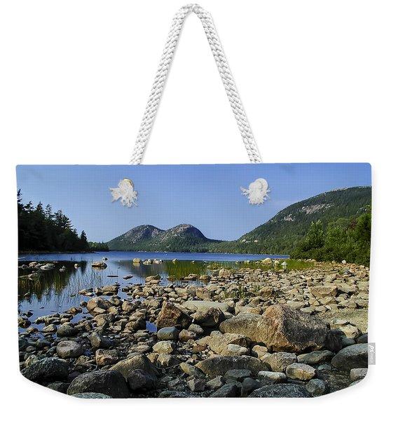 Jordan Pond No.1 Weekender Tote Bag