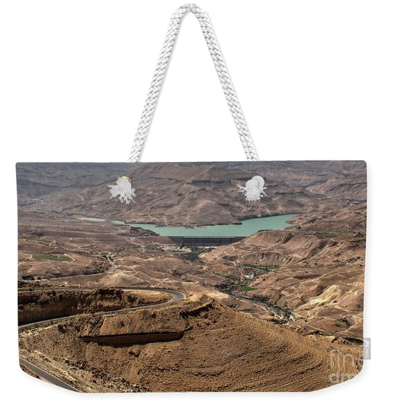 Weekender Tote Bag featuring the photograph Jordan River by Mae Wertz