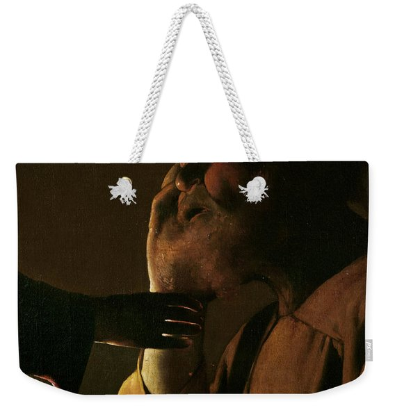 Joseph And The Angel Weekender Tote Bag