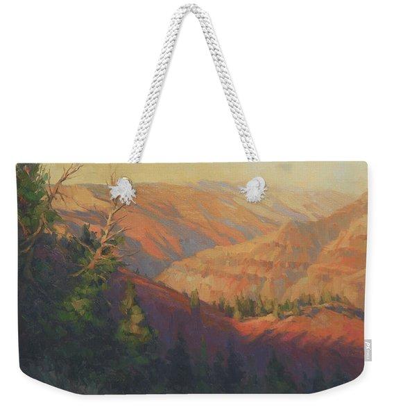 Joseph Canyon Weekender Tote Bag
